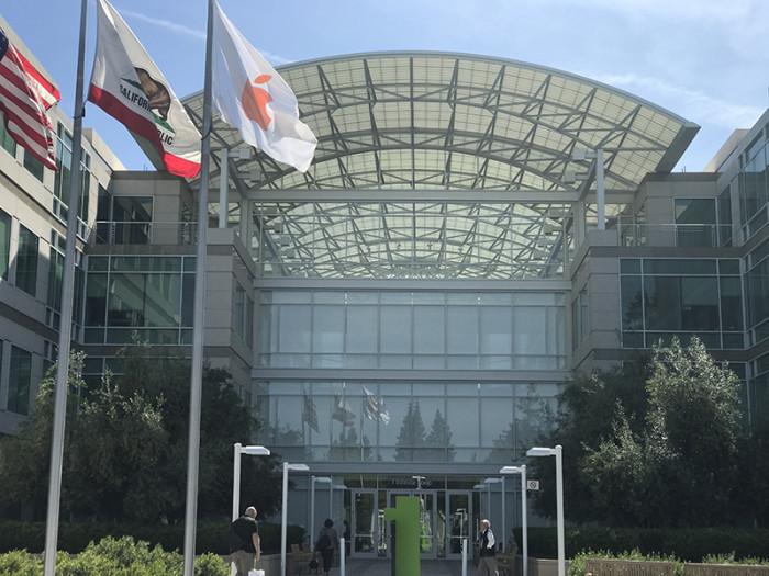 Siedziba Apple - firmy, którą założył Steve Jobs - wizjoner wierzył, że świat mogą zmieniać storytellerzy