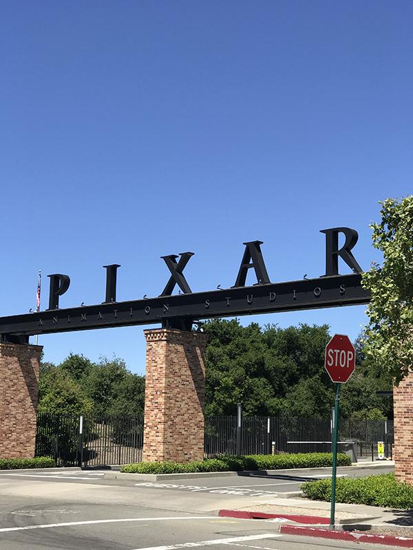 Siedziba firmy Pixar, założonej przez Stevea Jobsa - mistrza opowieści