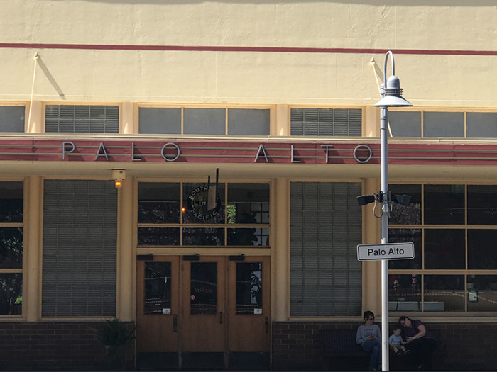 Stacja w Palo Alto