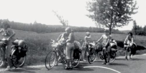 dr Monika Gorska w rowrowej podrozy z Polski do Francji