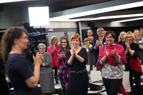Monika Gorska ekspert storytellingu biznesowego na konferencji opowiadaj i zarabiaj