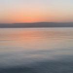 Wschód nad Jeziorem Gililejskim - blog